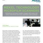 Crowley's new white paper, authored by industry expert Bob Zagami, gives examples of successful ROI measurement for owners of Mekel Technology microfilm and microfiche scanners.