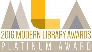 The Mekel Technology MACH-series microfilm scanners platinum award in the 2016 Modern Library Awards program