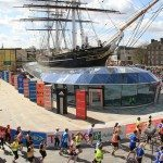 The Cutty Sark at Mile 6
