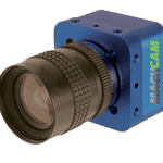 The MACHCAM 71MP machine vision camera is available as both an RGB color model and a monochrome model.