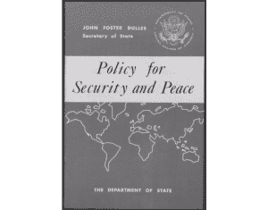Policy for Security