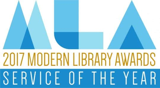 MLA 2016 Service of the Year logo