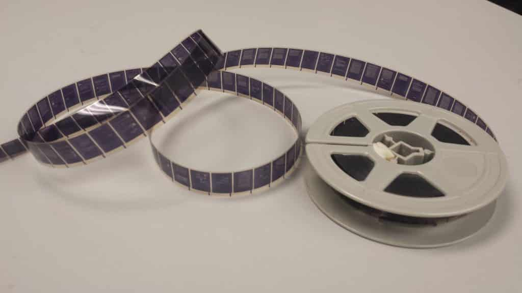 history of microfilm