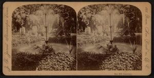 Oak Hill Cemetery Stereoscopic cards